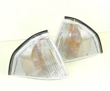 ALFA ROMEO 33 (907A) 1990-1994 PAIR FRONT INDICATORS LIGHT REPEATERS CLEAR SET