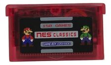 150 in 1 NES Classics Collection Multicart GBA Game Boy Advance w/ Case USA