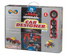 Zoob 0Z12052 Zoobmobile Car Designer Moving Mind-Building Modeling System, Assor