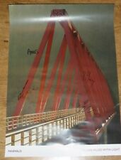 Fanfarlo. Rooms Filled With Light Signed Promotional Poster. Promo. Autographed.