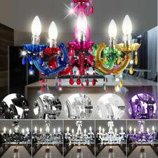 Design LED Kronleuchter Schlaf Zimmer Pendel Lampe Decken Hänge Lüster Chrom