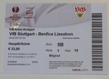 Ticket for collectors EL VfB Stuttgart - Benfica Lisboa 2011 Germany Portugal