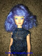 JEM AND THE HOLOGRAMS STORMER OF THE MISFITS DOLL BLUE HAIR VINTAGE HASBRO