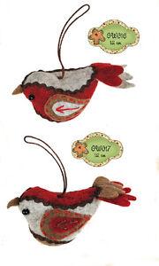 My Doll - sweet home Decorazioni di natale uccellino GW016 GW017