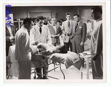 Robert Taylor Jack Lord VINTAGE Photo Tip On A Dead Jockey