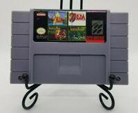 Super 4 in 1 SNES Multi-Cart   Legend of Zelda Games   Secret of Mana 1 & 2!