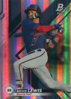 2019 BOWMAN PLATINUM RC ROYCE LEWIS MINNESOTA TWINS ROOKIE - A1003