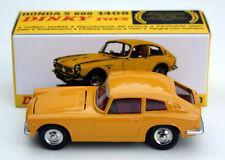 Honda S 800 Coupé - Modell Bj. 1966-1970, M. 1:43, ockergelb, Dinky Toys / Atlas