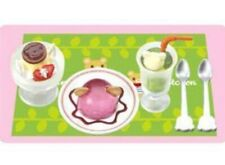 RARE NEW RETIRED Megahouse Miniature BEAR KITCHEN #4 Drink Pudding A97