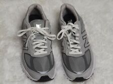 New Balance Men's 990 v5 Shoes Grey/White Sneakers
