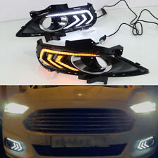 DRL For Ford Fusion Mondeo 2013 2014 2015 LED Daytime Running Light Fog Lamp