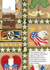 Support The Troops Anita Goodesign Embroidery Machine Design Cd New