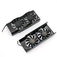 For MSI GeForce GTX 1050 2GT LP Gaming Graphics Video Card Cooling Fan Dual Fans