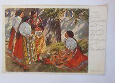 """""""Trachten, Frauen"""" 1912,  Obrazy Chodska ♥ (47208)"""