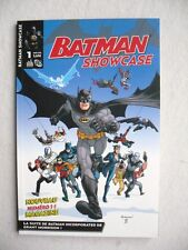BATMAN SHOWCASE N°1 ET 2 URBAN COMICS SERIE COMPLETE ETAT NEUF