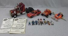 Mixed Lot of Kenner M.A.S.K Toys Rhino Thunder Hawk Firefly Gator Figures Mask