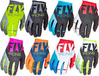 Fly Racing Mens & Youth Kinetic Dirt Bike Gloves MX ATV Offroad Off-Road 2018