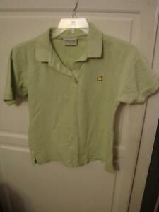 The Masters Collection Youth/Ladies Large Light Green Polo Shirt
