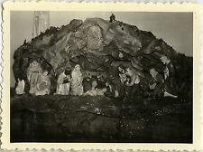 PHOTO ANCIENNE - VINTAGE SNAPSHOT - CURIOSITÉ RELIGION CRÈCHE NOËL - CHRISTMAS 1