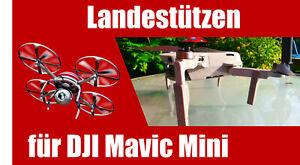 Landestützen für DJI Mavic Mini - Landefüße für Drohne Fahrwerk