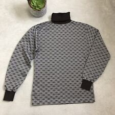 Vintage 70s Turtleneck Sz XS/S Brown - Styled In CA - USA Made