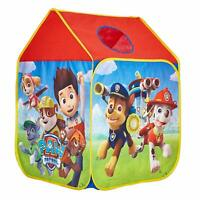 Pop Up Play Tent Paw Patrol Wendy House Roll Up Door Window Peek-a-boo Hole New