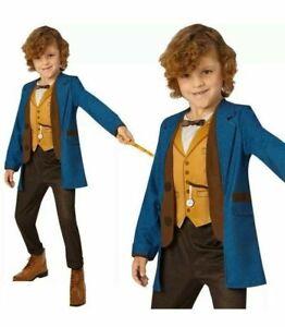 Harry Potter Fantastic Beasts Deluxe Newt Scamander Costume Halloween Varied Age