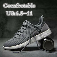 Men's Slip On Sports Outdoor Sneakers Running Walking Hiking Shoes Trainers