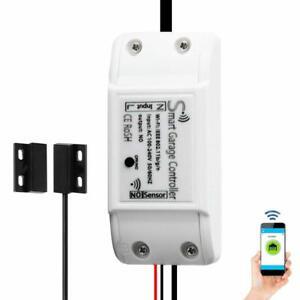 WiFi Smart Garage Door Opener Controller, Smartphone Alexa Google Home