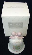 4 1/2 in tall Enesco Precious Moments Avon 1997 porcelain christmas bell