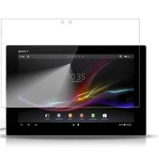 Sony Xperia Tablet Z - 1x film de protection semi rigide + chiffon doux