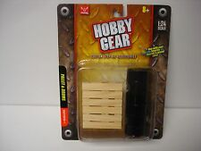 Pallet & Oil Drums - Hobby Gear - 1/24 & G Scale - by Phoenix Toys