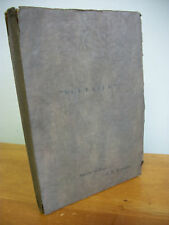 VOLTAIRE A Play by de Haas & Waxman, 1931 Signed