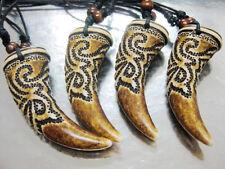 12pcs wholesale Horn  dragon Stamped Man's Pendant&necklace DD778