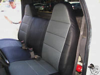TOYOTA PICK UP 1993-2003  IGGEE S.LEATHER CUSTOM SEAT COVER 13COLORS AVAILABLE