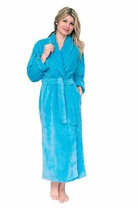 Chenille Robe Dressing Gown Bathrobe Cotton Housecoat Plush Plus Size