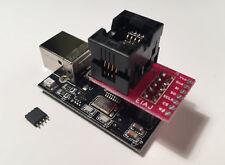 SPI Flash EEPROM Memory Programmer with EIAJ SOIC8 SO8 Socket Adapter (USB 2.0)