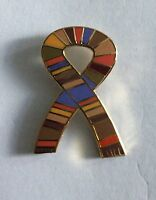 DR WHO SCARF ENAMEL PIN BADGE - BRAND NEW RARE & COLLECTIBLE
