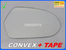 Wing Mirror Glass For Audi A6 2011-2013 CONVEX + TAPE Right Side #A030