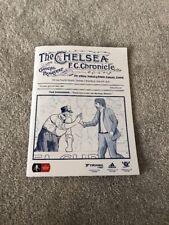 Chelsea Programme Chelsea V Brentford 28.01.17