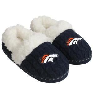 NFL Denver Broncos Women's Moccasin Slippers