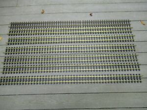 "(7) 59"" G Scale Sections of Track Metal & Plastic"