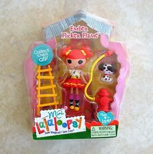 Ember Flicker Flame Mini Lalaloopsy Doll New #1 Series 6 MGA Fire House