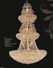"Palace Firework 32 light 50"" Crystal Chandelier Gold Lamp Precio Mayorista"