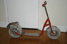 Vintage Kettler West Germany Scooter Full Metal Parts Rubber Tyres Complete Set