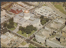 America Postcard - Bird's Eye View of Georgia's State Capitol RR2141