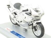 Maisto Diecast 39341 Triumph Daytona Silver 1 18 Scale Boxed