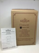 NEW GEVALIA Kaffe G92 Black/Stainless 12 Cup Automatic Prog Coffee Maker XCC-12