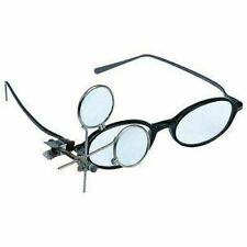 Clip On Magnifying Loupe for Glasses Loup Magnifier Glass Swing Out Away