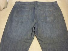 035 MENS EX-COND JAG LOW RISE STR8 STEEL BLUE JEANS 40 $120.